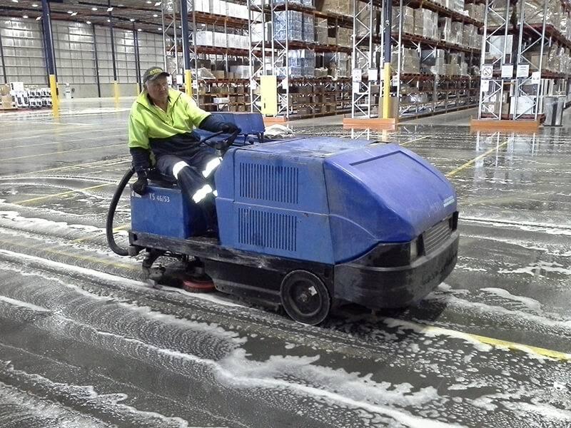 Commercial Scrubbing Factory Brisbane