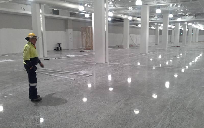 Beautiful Floor Sweeping Machine