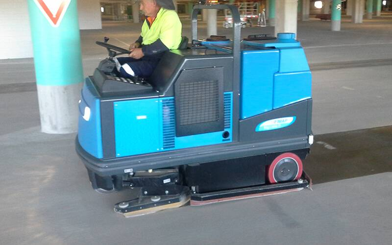 Scrubber Machine Rentals Car Park