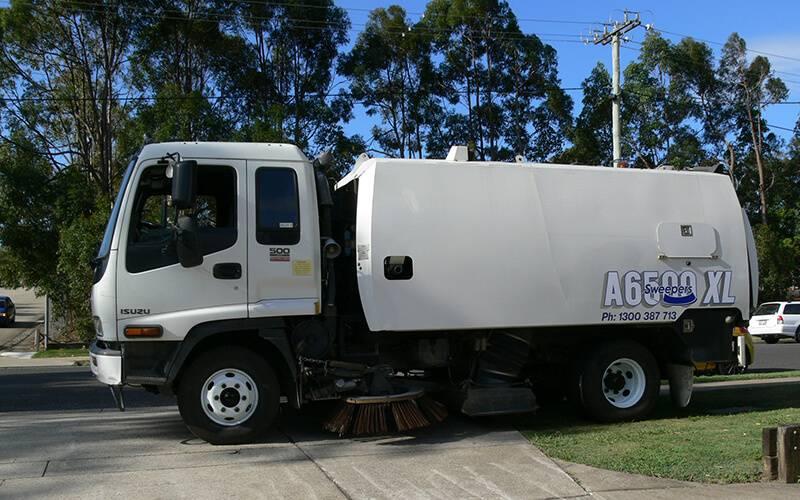 New Sweeping Machine Brisbane